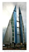 Bahrain World Trade Center - 2 by tamauz