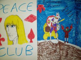 Baseball and Peace Club Poster by Imperius-Rex
