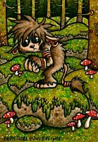 BODIE TROLL John Bauer style by chricko