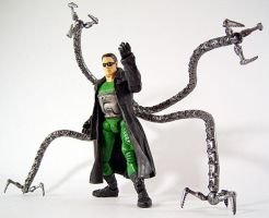 Custom Doctor Octopus action figure by firebladecomics