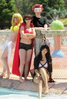RWBY Swimsuits by TigerofSnow