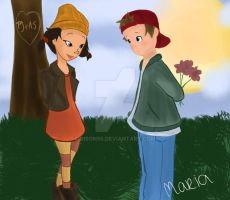 T.J. and Spinelli by Ribon95
