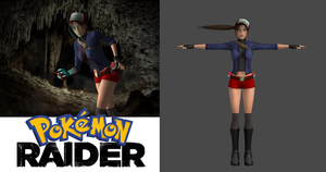 Pokemon Raider: Lara Croft Pokemon Trainer by carbint