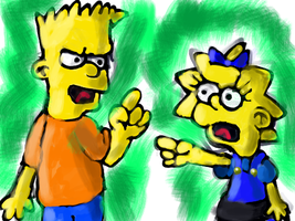 OMG Bart swore by Quacksquared