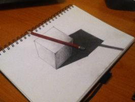3D Cube by ElectroHeart38