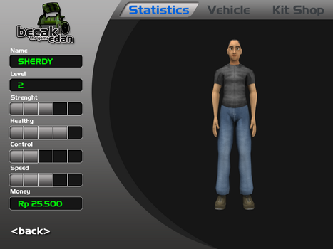 GUI for becak edan the game :D by akbarwibawa