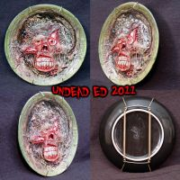 Zombie Collectors plate by Undead-Art