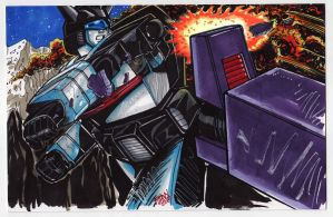 2012 7x10 Convention Commission : TF G1 Jazz by fbwash