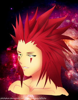 Axel from Kingdom Hearts by PitchyKun