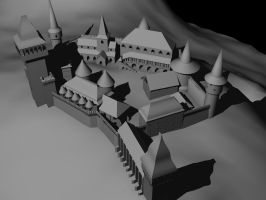 3ds Max castle by SolidAlexei