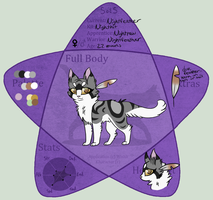 Nightfeather | Shadowclan *redone* by candysprites