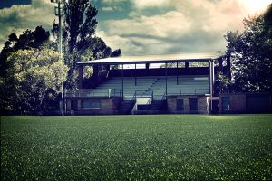 Tantallon Oval - Fake HDR by hot-cake-joy