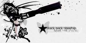 black rock shooter by neikoka