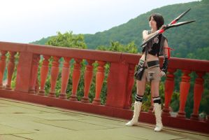 Yuffie FFVII Advent Children 09 by Nefataria