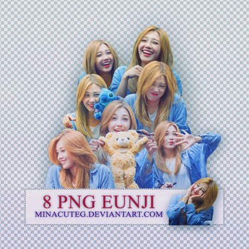 [PACK RENDER #1 ] 8 PNG EUNJI (APINK) by minacuteg