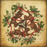 3 Hares by WildWoodArtsCo