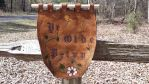 leather banner, Ye Olde Privy by naked2hobby