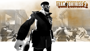 Team Fortress 2 Wallpaper in CoH2 style by Freaky333
