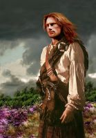 Red Jamie Fraser by Captivated2