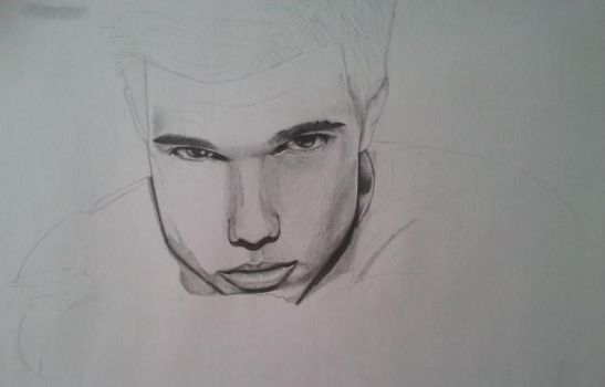 WIP Taylor Lautner by Francislois