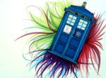 TARDIS-commission by DragonLover2000