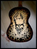 my old guitar by MadHatterArien