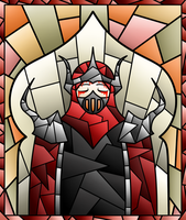 Stained Glass - Thorns of Vengeance by glAviator