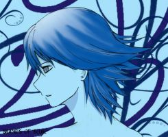Claymore:shades of blue by ABping