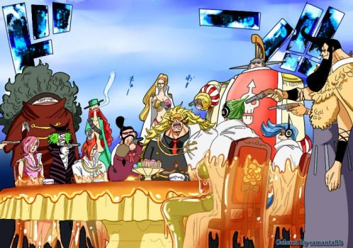 one piece 864 colored by Samanta95