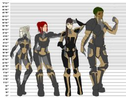 Valkyrie Height Comparison by PetitRouxx