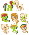 Iro and Apple Spice Breedable CLOSED by AdamsAdopts