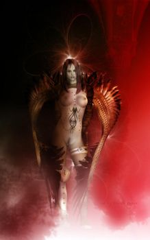 The Angel of Destruction by goor