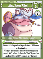 Alina Character Card by The-FAme