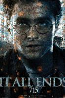 HP7 Harry Potter Poster Mosaic by smallrinilady