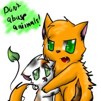 DONT abuse animals by Kitzophrenic