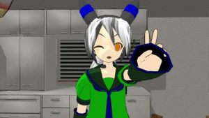 my mmd self model by THE-EVIL-RETARD-FACE