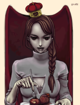 Queen of Hearts by goatz