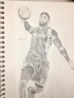 Lebron James by AguilarX