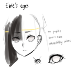 ente's eyes by onisuu