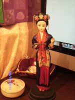 chinese girl doll by curlytopsan