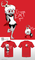 Wendy Go - Cute Monster by AnArtistCalledRed
