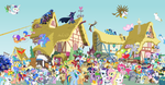MLP: FiM Epic Group Picture by daughterdragon
