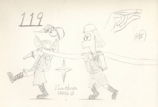 firemen--PnF by 0SouthernCross0