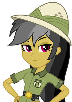 Vector - EqG Daring Do (Pony Colors) by SketchMCreations