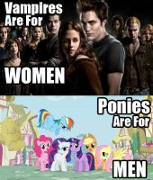 Ponies are for Men by gork105
