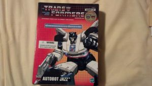Transformers Reissue Generation One Jazz 1 by benracer