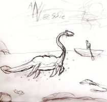 nessie again by mothmanb