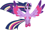 Rainbow Power Twilight Sparkle by whizzball2