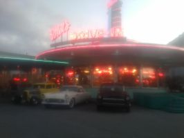 Mel's Drive In by USCGCitasca