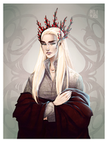 Elvenking by PaolaPieretti